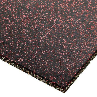 EPDM Red Fleck Gym Flooring