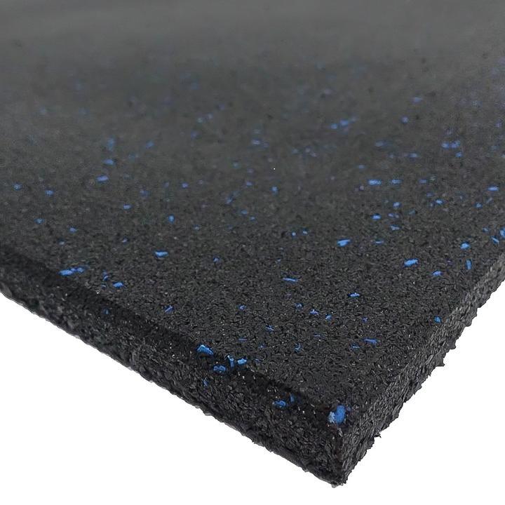 Blue Fleck Rubber Gym Flooring