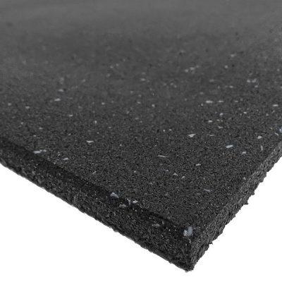 Grey Fleck Rubber Gym Flooring